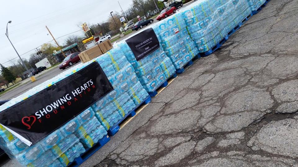 Showing Hearts Flint Michigan